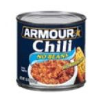 Armour - No Beans Chili 0017000014883  / UPC 017000014883