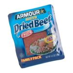 Armour - Dried Sliced Beef Pouch 0017000016870  / UPC 017000016870