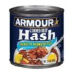Armour - Corned Beef Hash 0017000019260  / UPC 017000019260