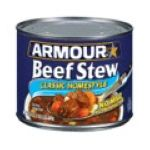 Armour - Beef Stew 0017000033853  / UPC 017000033853