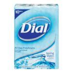Dial -  Dial Spring Water Antibacterial Soap Bar Bars 0017000039633