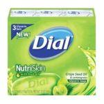 Dial -  Nutriskin Glycerin Soap Grapeseed Oil & Lemongrass 0017000039763