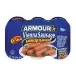 Armour - Barbecue Flavored Vienna Sausage 0017000083346  / UPC 017000083346