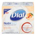 Dial -  Glycerin Bar Nutriskin White Peach And Shea 0017000986753