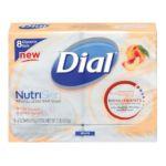 Dial -  Glycerin Bar Nutriskin White Peach And Shea Butter Bars 0017000986784