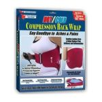 American health -  Hot Cold Inflatable Compression Back Wrap Support 0017874005543