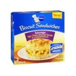 Pillsbury - Sausage Cheese Breakfast Sandwich 0018000272716  / UPC 018000272716