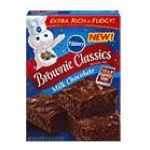 Pillsbury - Brownie Mix Classics Milk Chocolate 0018000281398  / UPC 018000281398