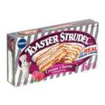 Pillsbury - Toaster Strudel Cream Cheese & Raspberry 0018000656356  / UPC 018000656356