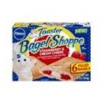 Pillsbury - Toaster Bagels Strawberry & Cream Cheese 0018000661107  / UPC 018000661107