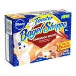 Pillsbury - Bagels Cinnamon Raisin Filled 6 filled bagels 0018000661121  / UPC 018000661121