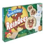 Pillsbury - Sugar Cookies Reindeer Shape 0018000723164  / UPC 018000723164