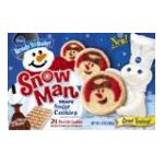 Pillsbury - Cookie Dough Sugar Snowmen 0018000723171  / UPC 018000723171