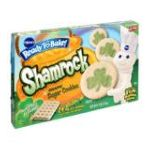 Pillsbury - Ready To Bake Cookies Sugar Shamrock Shape 0018000723232  / UPC 018000723232