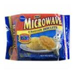 Pillsbury - Microwave Biscuits Buttermilk 0018000727018  / UPC 018000727018