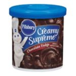 Pillsbury - Frosting Creamy Supreme Chocolate Fudge 0018000760503  / UPC 018000760503