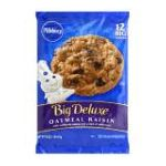 Pillsbury - Ready To Bake Cookies Big Oatmeal Raisin 0018000817740  / UPC 018000817740
