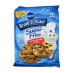 Pillsbury - Ready To Bake Cookies Sugar Free Chocolate Chip 0018000864317  / UPC 018000864317