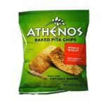 Athenos - Baked Pita Chips Whole Wheat 0019320001185  / UPC 019320001185