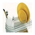 Amco Corporation - Amco Mini Dish Rack Set, Stainless Steel 0019578150383  / UPC 019578150383