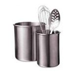 Amco Corporation -  Focus Products 8761 Amco Hw Lg Ss Utensil Holder 0019578162034