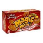 Aunt jemima -  Flavored Mini Pancakes 0019600054108