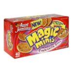 Aunt jemima -  Flavored Mini Pancakes 0019600054207