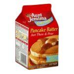 Aunt jemima -  Pancake Batter 0019600056409