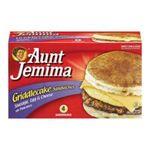 Aunt jemima -  Sandwiches 0019600059608