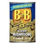 Green Giant - Sliced Mushrooms 0020000000022  / UPC 020000000022