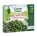 Green Giant - Baby Sweet Peas & Butter Sauce 0020000000909  / UPC 020000000909