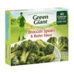 Green Giant - Broccoli Spears & Butter Sauce 0020000001685  / UPC 020000001685
