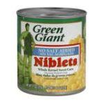 Green Giant - Niblets Corn Sweet Whole Kernel 0020000100098  / UPC 020000100098