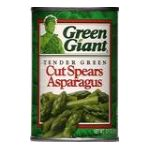 Green Giant - Cut Spears Asparagus 0020000104348  / UPC 020000104348