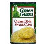 Green Giant - Cream Style Sweet Corn 0020000105277  / UPC 020000105277