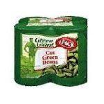 Green Giant - Beans Cut 58 0020000110318  / UPC 020000110318