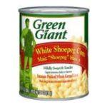 Green Giant - Corn White Shoepeg Whole Kernel 0020000113821  / UPC 020000113821