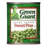 Green Giant - Sweet Peas 0020000120621  / UPC 020000120621
