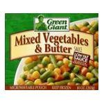 Green Giant - Mixed Vegetables 0020000125886  / UPC 020000125886