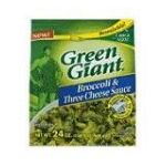 Green Giant - Broccoli & Three Cheese Sauce 0020000126807  / UPC 020000126807