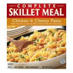 Green Giant - Complete Skillet Meal Chicken & Cheesy Pasta 0020000144184  / UPC 020000144184