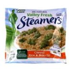 Green Giant - Valley Fresh Steamers Cheesy Rice & Broccoli 0020000199658  / UPC 020000199658