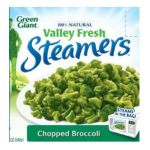 Green Giant - Frozen Steamers Chopped Broccoli 0020000273334  / UPC 020000273334