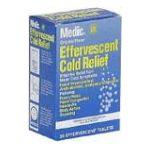 Winn-Dixie -  Effervescent Cold Relief 36 tablet 0021140706249