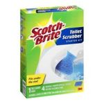 3M -  3M 557BL Toilet Scrubber With Refill Head 0021200978524