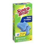 3M -  Scotch-Brite Disposable Toilet Scrubber Refills, 6 Refills 0021200978784