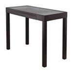 Winsomewood -  Groveland Darrel Computer Desk with Glass Top in Black 0021713201423