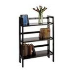 Winsomewood -  3-Tier Folding And Stackable Shelf By Winsome Wood 0021713208965