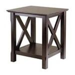 Winsomewood -  Xola End Table in Cappuccino 0021713404206