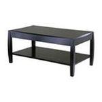 Winsomewood -  Rectangular Coffee Table Lower Shelf in Dark Espresso 0021713920416